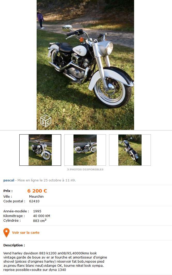 kit 883 vers 1200 cc. Impact carte grise et assurance ? 4840611834