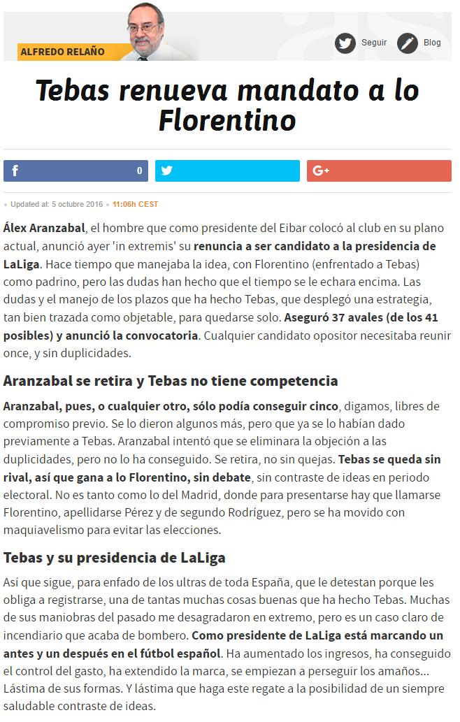 Alfredo Relaño, opiniones, artículos. - Página 30 7179157917