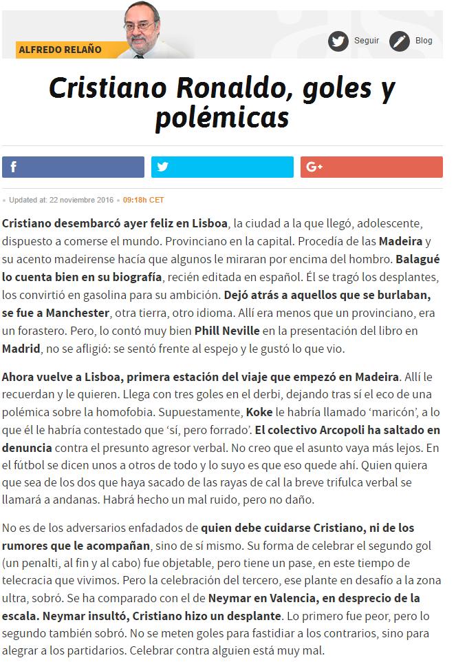 Alfredo Relaño, opiniones, artículos. - Página 30 3113895079
