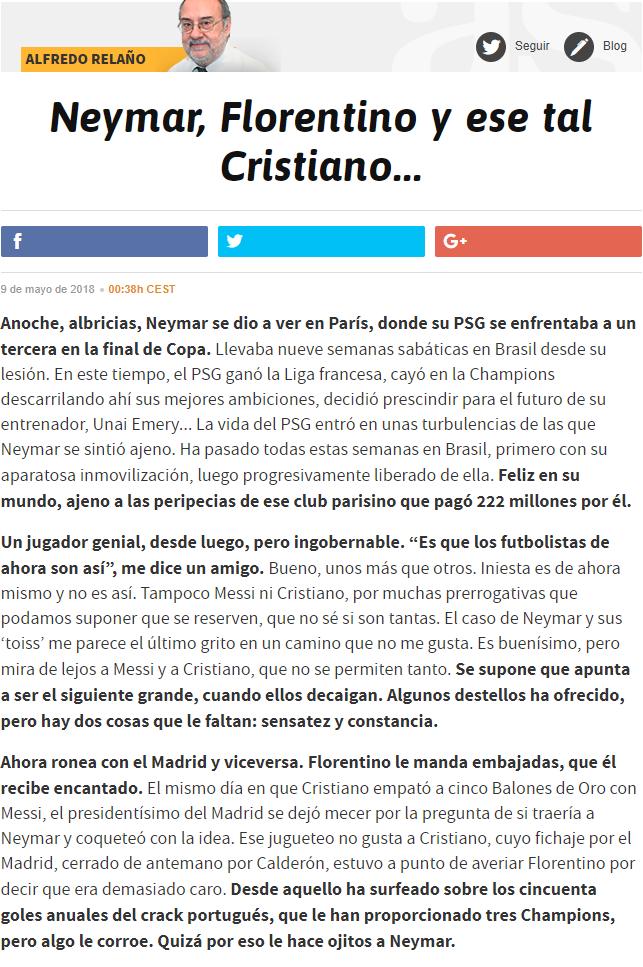 Alfredo Relaño, opiniones, artículos. - Página 31 6812556348