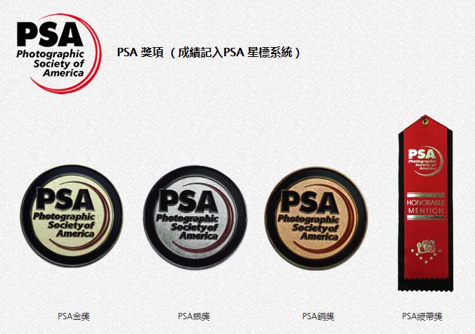 PSA 獎項 (成績記入PSA 星標系統)