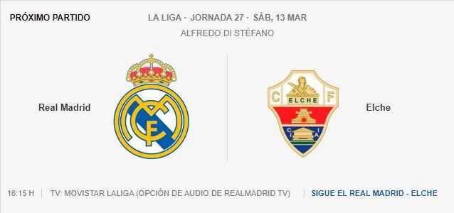 Real Madrid - Elche 7302040946
