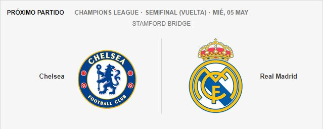 Chelsea - Real Madrid 5851340158