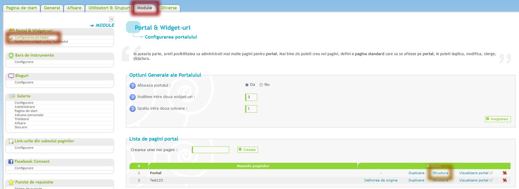 Afisarea unui sondaj pe pagina de start Ao9nxre