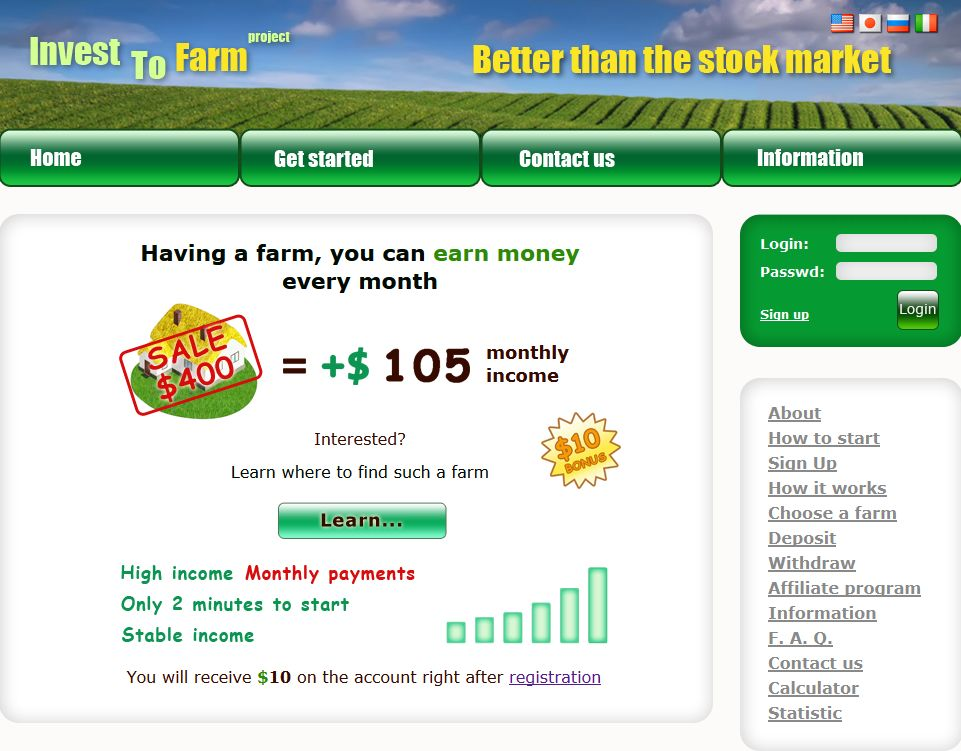 Invest To Farm Project - intofarm.com 6176289491