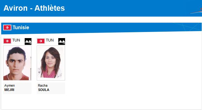 الوفد التّونسي المشارك في أولمبياد لندن 2012