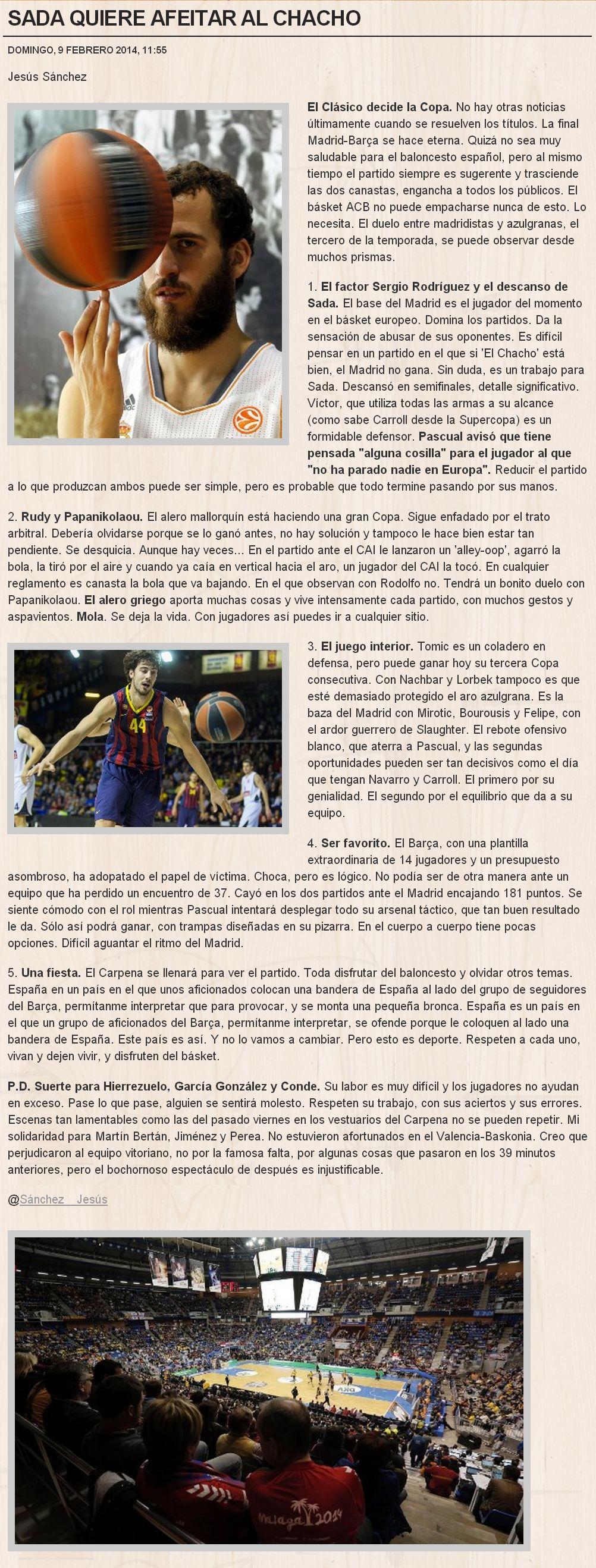 Copa del Rey Baloncesto (Málaga del 6 al 9 de febrero de 2014) - Página 4 5421960365