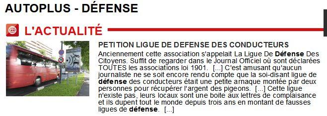 La Ligue de défense des conducteurs BAYARD Christiane - Page 2 2224429349