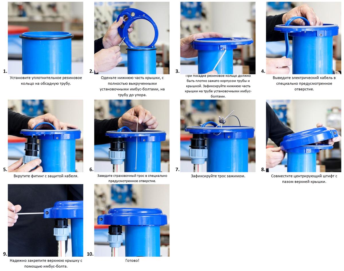 Обсадка скважины пластиковыми трубами своими руками