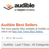 audible top 50