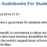 audiobooks & dyslexia