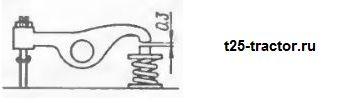 Регулировка клапанов трактора т-25