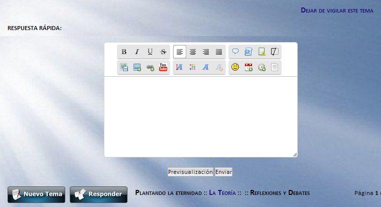 El área para escribir es más pequeña que la ventana del editor de texto, en los dos modos de edición. 1368413522