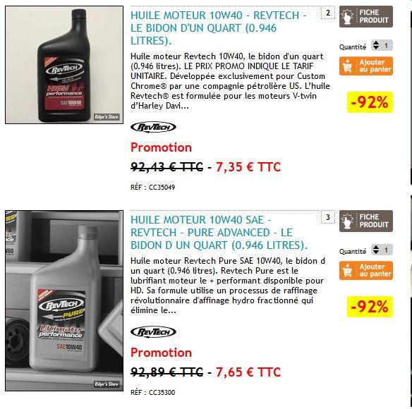 Promo: 92% de réduction sur l'huile REVTECH 7568068311