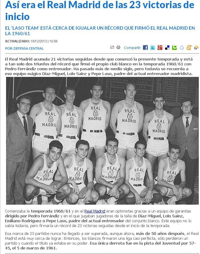 Clasificacion Liga Endesa baloncesto 0666551948