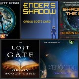 Orson Scott Card audiobook covers