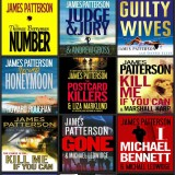 James Patterson audiobook covers
