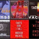 Andrew Vachss audiobook covers