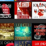 Lee Child audiobook covers