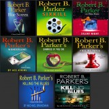 Robert B. Parker audiobook covers