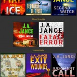 J.A. Jance audiobook covers