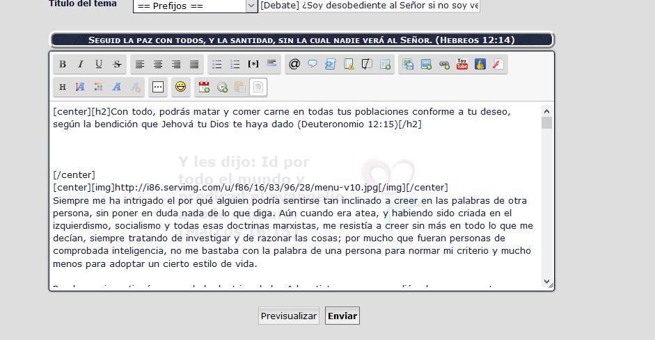 """(1061)(1521) El editor de textos agrega renglones y elimina BBCodes cuando se """"previsualiza"""" un post. - Página 2 0145876088"""