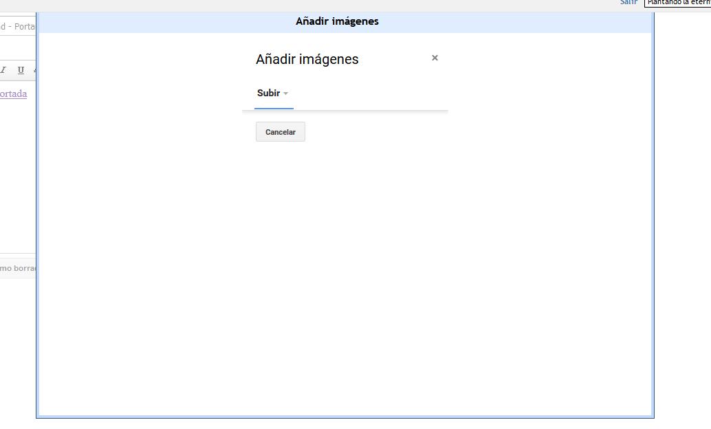 """Cuando comparto un tema en blogger desde """"Compartir"""" o desde la toolbar, no abre bien la ventana para añadir imágenes - Página 2 8224829344"""