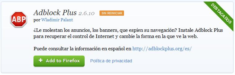 AdBlock y Ublock no mas bits a los virgo crapeadores