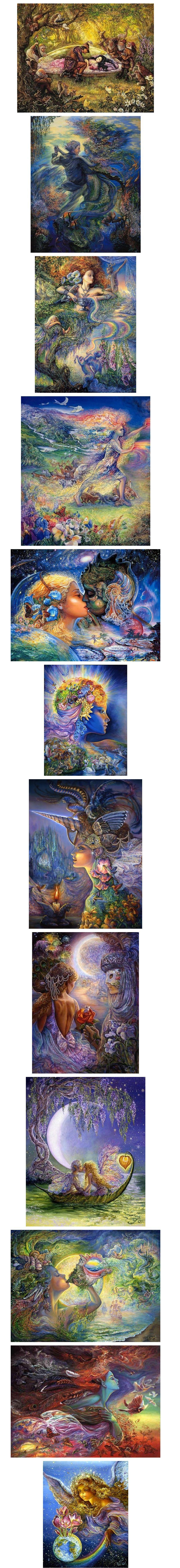 Картины Жозефины Уолл .