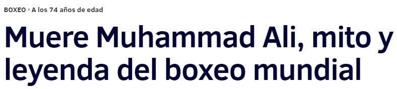 Ha muerto Muhammad Ali 7374616279