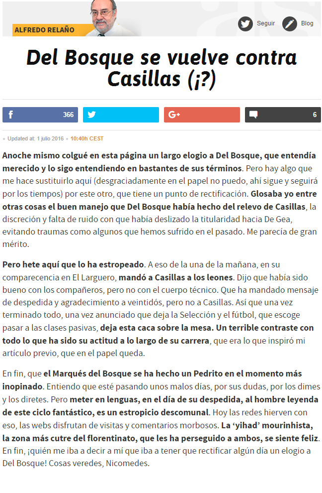 Alfredo Relaño, opiniones, artículos. - Página 28 7260467782