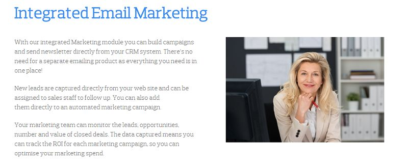 Really Simple Systems - Integrated Email Marketing