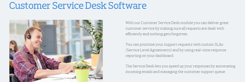 Really Simple Systems - Customer Service Desk