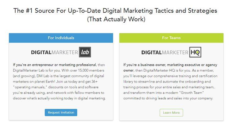 Digital Marketer - Digital Marketer HQ