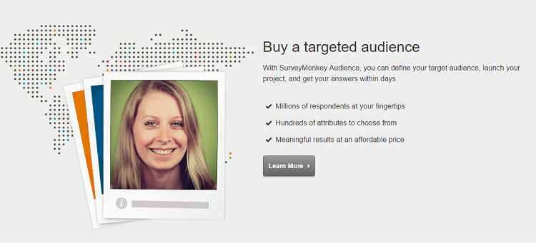 Survey Monkey - Targeted Audience