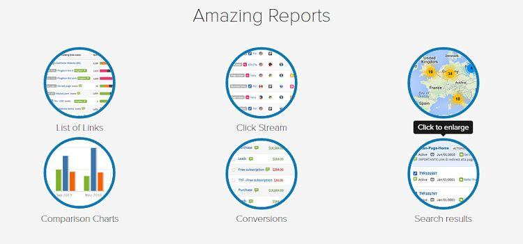 Clickmeter - Reports