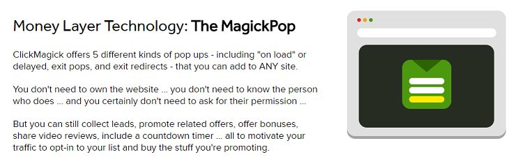 ClickMagick - The MagickPop